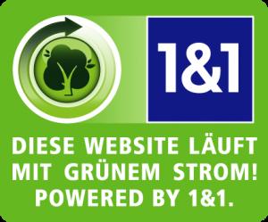 Unsere Homepage läuft mit grünem Strom